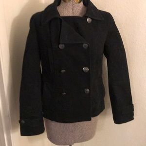 Gap black peacoat